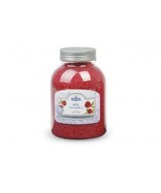 Sól do kąpieli - róża - 1.2 kg
