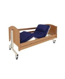 Łóżko szpitalne TAURUS z leżem drewnianym