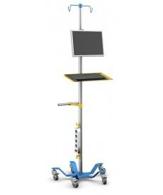 Stojaki pod aparaturę medyczną seria SM-06P bez regulacji