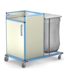 Wózek transportowy czystej i brudnej bielizny WCB-1221