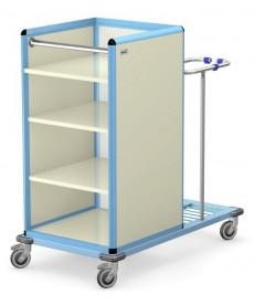 Wózek transportowy czystej i brudnej bielizny WCB-1411