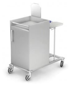 Wózek do transportu czystej i brudnej bielizny WZB-03KO