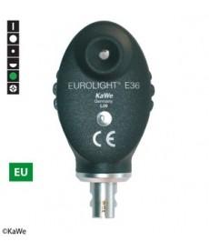 Oftalmoskop KaWe EUROLIGHT E36, główka optyczna