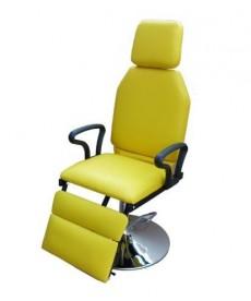 Fotel okulistyczno-laryngologiczny na podsatwie stożkowej