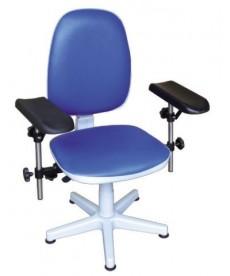 Krzesło do pobierania krwi - obrotowe