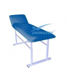 Stół rehabilitacyjny o skokowej regulacji wysokości bez otworu twarzowego