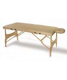 Stół rehabilitacyjny SKŁADANY (64 cm x 180cm), drewniany CE