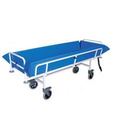 Wózek transportowo kąpielowy w pozycji leżącej o stałej wysokości (wózek do kąpieli)