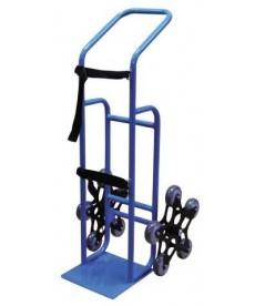 Wózek do transportu butli gazowych z systemem 5-kołowym