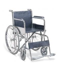 Wózek inwalidzki - koła pełne,boczki stałe,podnóżki stałe i odch