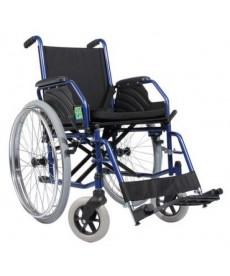 Wózek inwalidzki - koła pneumat.,boczki i podnóżki demont.. i od