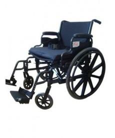 Wózek inwalidzki ręczny - wzmocniony do 160 kg