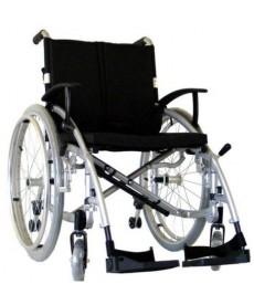 Wózek inwalidzki aluminiowy (14,5 kg)