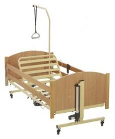 Łóżko rehabilitacyjne wielopozycyjne regulowane elektrycznie