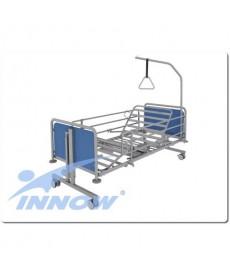 Łóżko pielęgnacyjne szpitalne metalowe