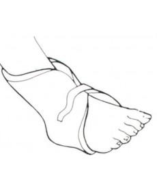 Manszet p/odleżynowy na stopę