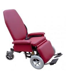 Fotel rehabilitacyjny do długotrwałego przebywania w pozycji siedzącej