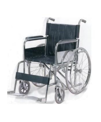 Wózek inwalidzki- siedzisko 46/51 cm-wzmocniony do 125 kg