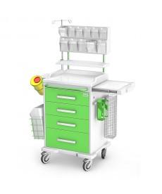 Wózek anestezjologiczny ANS-04/ABS z wypos