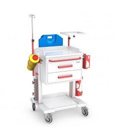 Wózek Reanimacyjny seria OPTIMUM R -  OR-2ABS z wyposażeniem