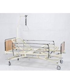 Łóżko szpitalne A-6-3ST - płyta laminowana