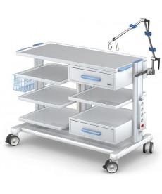 Wózek pod aparaturę medyczną seria APAR-3 PAR100-3