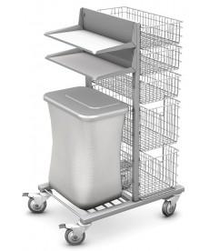 Wózek koszowy WKS-1 z wyposażeniem
