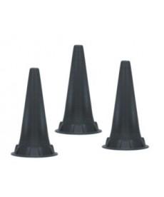Wzierniki uszne jednorazowego użytku do otoskopów KaWe lub Riester lub Heine lub Luxamed - 100 szt.