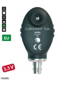 Oftalmoskop KaWe EUROLIGHT E36 3,5 V, główka optyczna