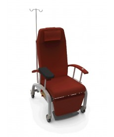 Fotel pacjenta ZERO-G + podnóżek podkładka do pobierania krwi
