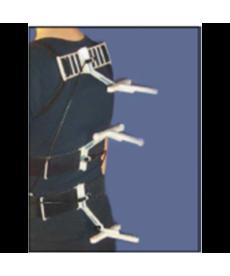 Zebris BACK WS CMS20S - Zestawy do analizy zakresu i koordynacji ruchu tułowia dla ergonomii pracy i sportu