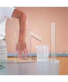 Zestaw do wypornościowego pomiaru objętości dłoni