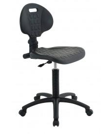 Krzesło laboratoryjne niskie (czarne)