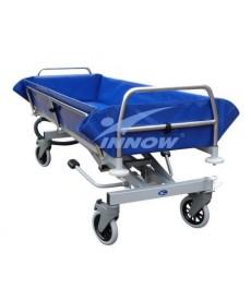 Wózek transportowo kąpielowy z regul. hydraulicz. wysokości (wózek wanna do kąpieli)