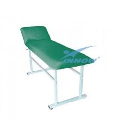 Stół rehabilitacyjny o skokowej reg. wys. bez otworu twarzowego