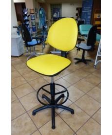 Krzesło (taboret) medyczny lekarski wysoki z oparciem