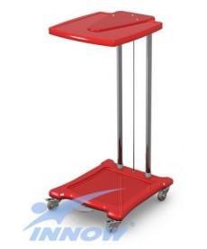 Wózek na odpady lub brudną bieliznę stelaż ze stali nierdzewnej