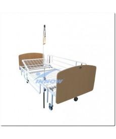 Łóżko pielęgnacyjne na kołach Œ