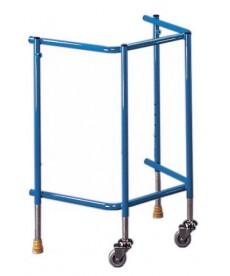 Balkonik standardowy 2 kołowy na stopkach Œ