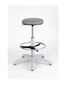Taboret LABO 4 Special CH Grey