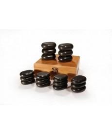 Zestaw 18 kamieni do masażu