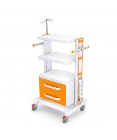 Stoliki pod aparaturę medyczną seria K-1 LUX - G-002 LUX