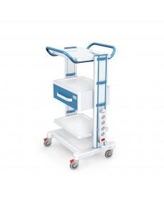 Stoliki pod aparaturę medyczną seria K-1 LUX - G-004 LUX