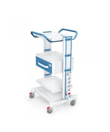 Stoliki Pod Aparaturę Medyczną Seria K 1 Lux G 004 Lux