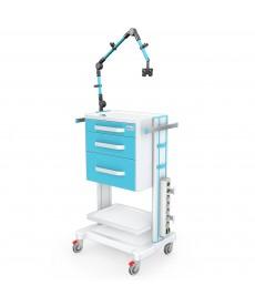 Stoliki pod aparaturę medyczną seria K-1 LUX - G-009 LUX
