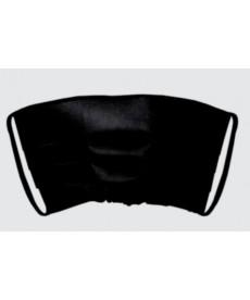 Maska jednorazowa plisowana czarna 1szt