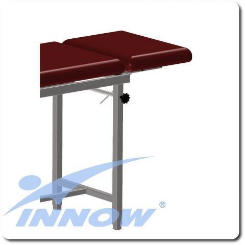 Leżysko z podgłówkiem- wydłuża stół do 175 cm